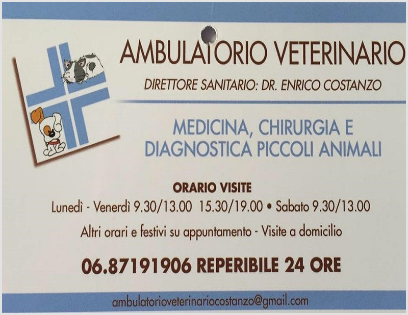 Ambulatorio Veterinario Costanzo a Roma