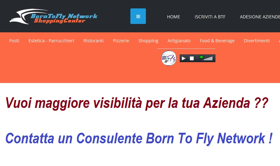 Shopping Center - Renditi visibile nel Web