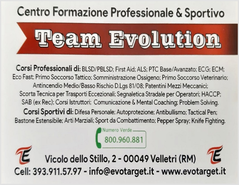 Team Evolution a Velletri
